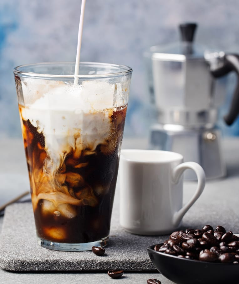 Iced Maca Coffee