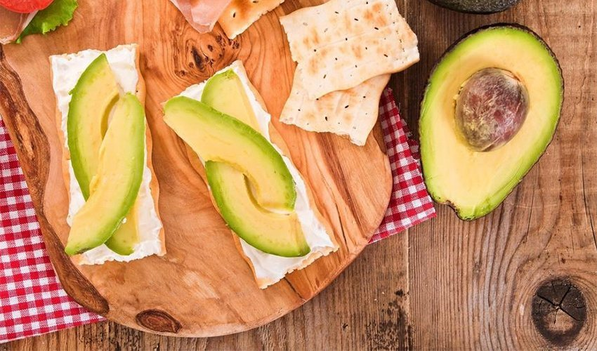 Avocados and Crackers