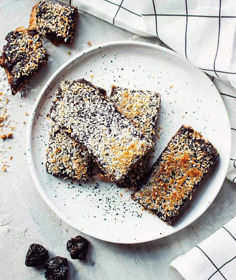 Vegan Prune Slice