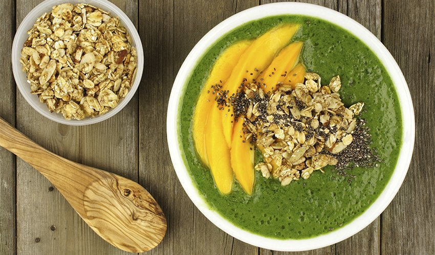Jolly Green Smoothie Bowl