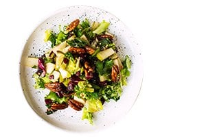 Pecan Pear Green Salad
