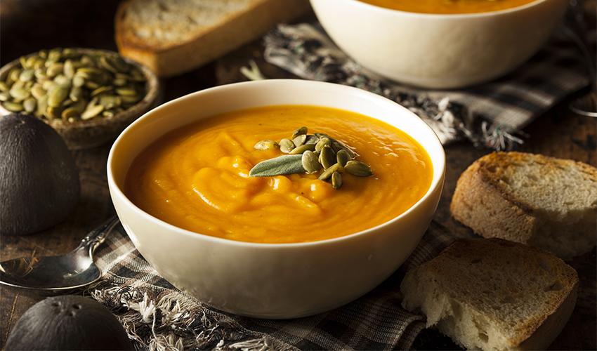 Sweet Potato Tahini Soup