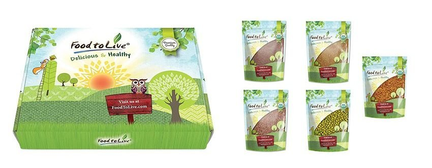 Organic Sprouting Seeds Kits