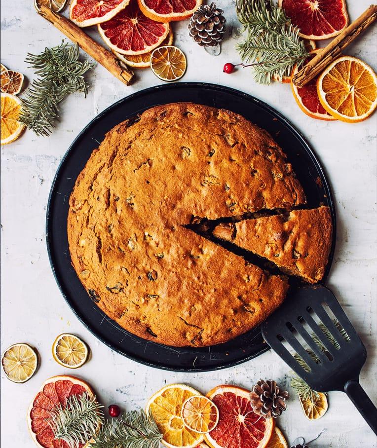 Traditional Fruit Christmas Cake