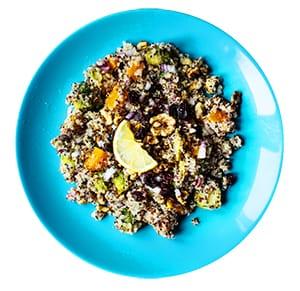 Tri-Color Quinoa & Roasted Vegetable Salad