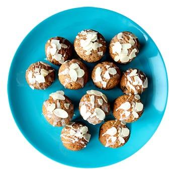 Chai Spiced Oat & Quinoa Flour Muffins