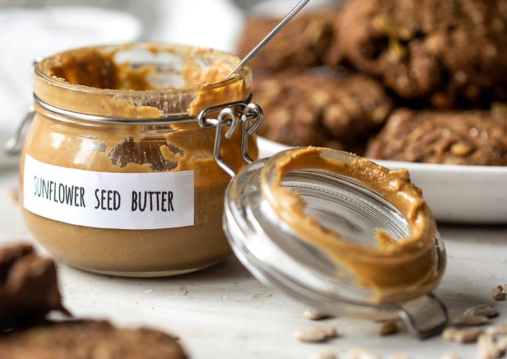 Homemade Sunflower Seed Butter