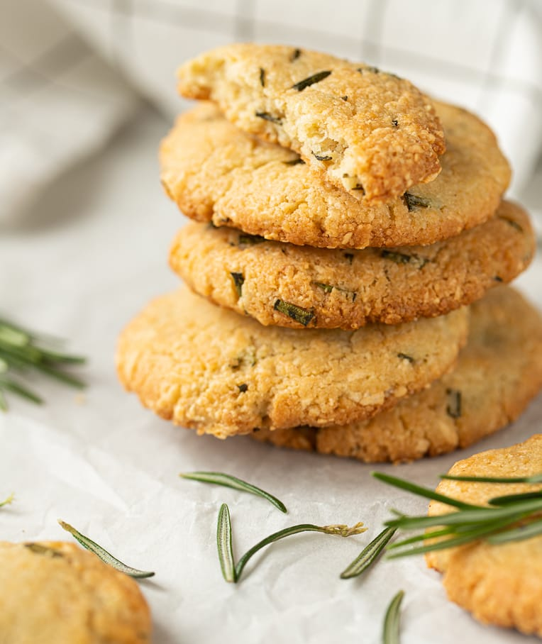 Rosemary Cashew Flour Biscuits