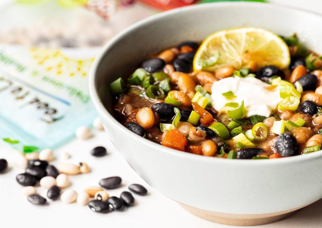 Easy Spicy Black Bean Soup