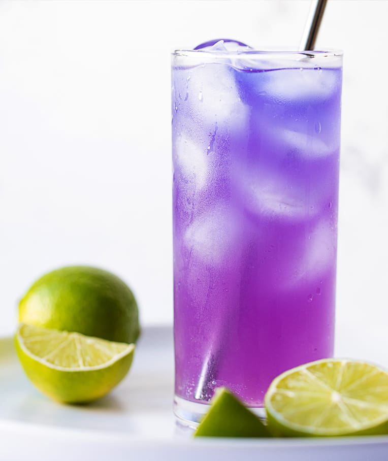 Color-Changing Mojito Mocktail