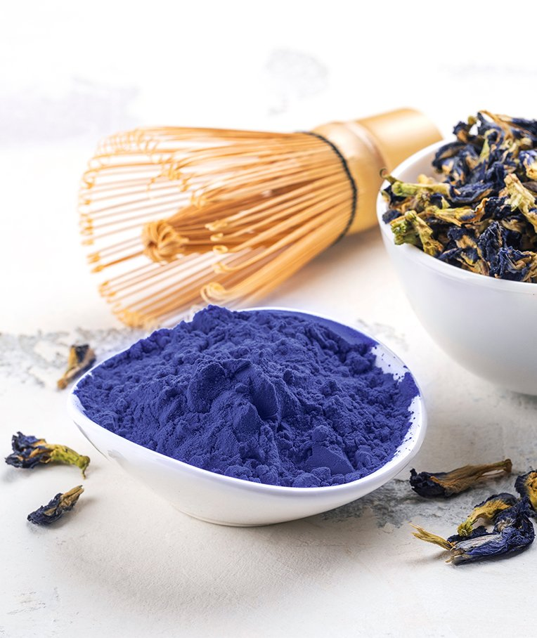 Butterfly Pea Powder: Nutrition, Health Benefits and Uses