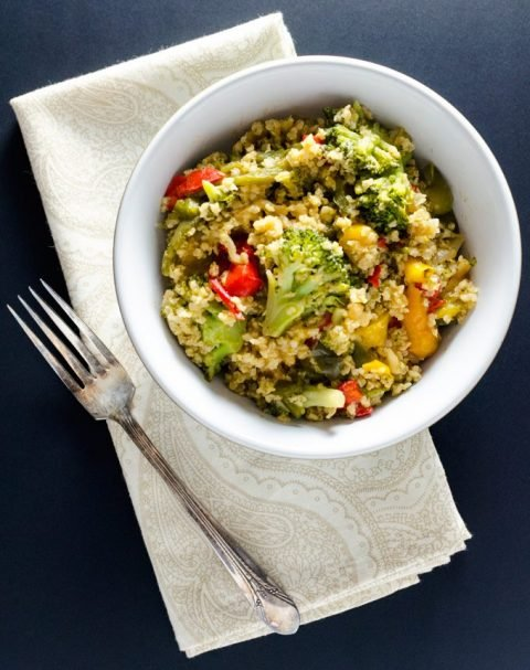 Oil-Free Broccoli Millet Stir-Fry (vegan & glutenfree)