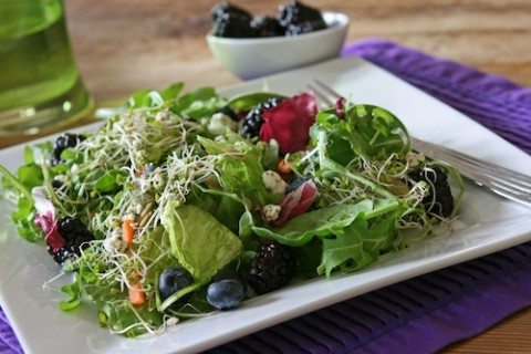 High Antioxidant Superfoods Salad