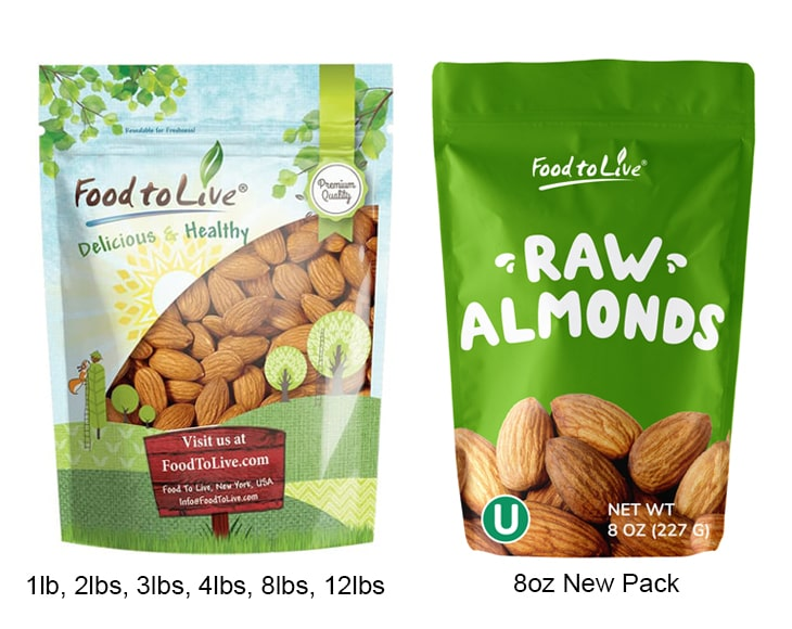 California Almonds New Pack