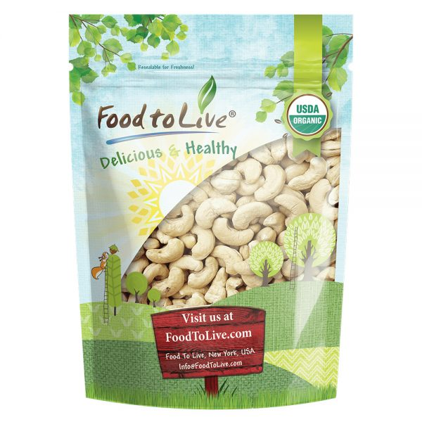 Cashews Organic Small Bag