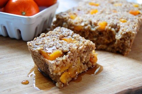 Quinoa Oatmeal Bake With Apricots