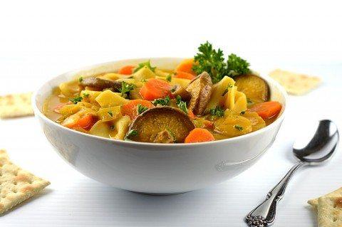 Green Tea Vegetable Immunity Boosting Soup