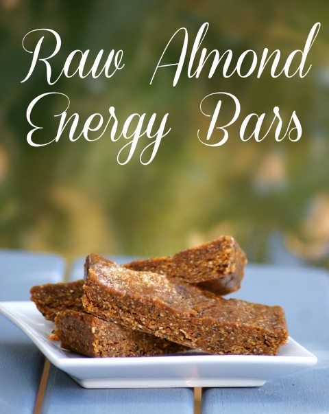 No-Bake Almond Energy Bars