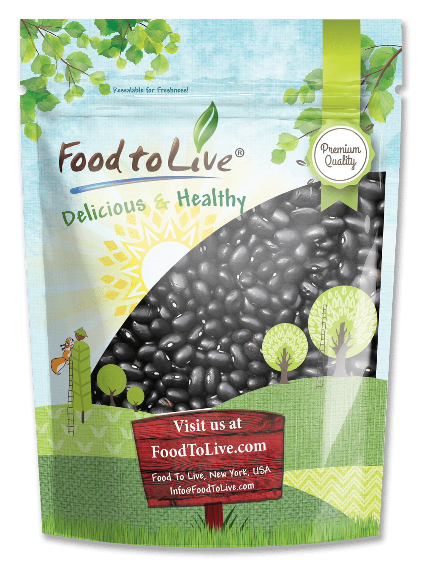 Black Beans Premium Small Bag
