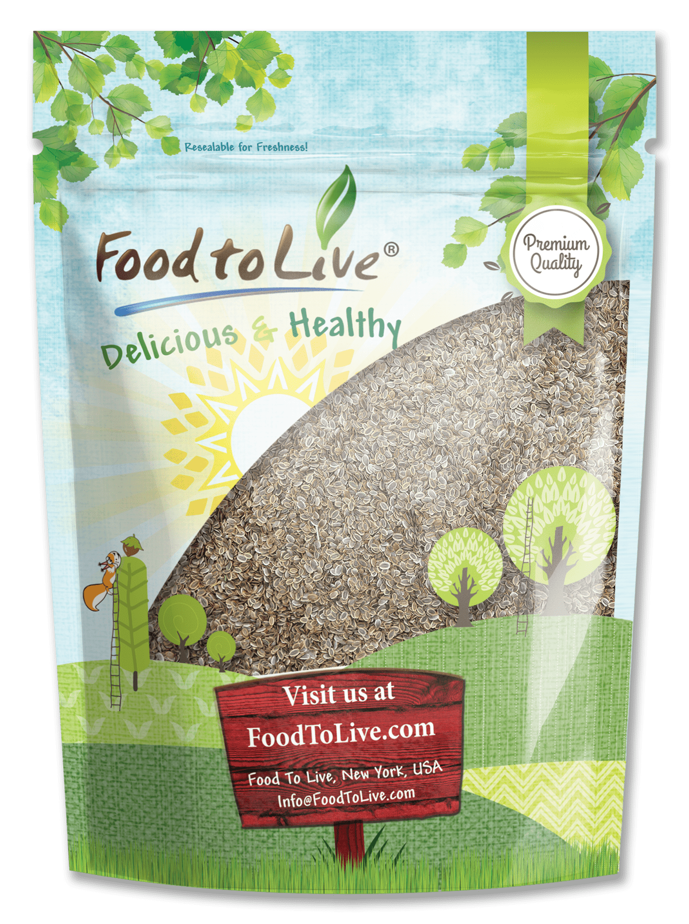 Dill Seeds Premium Small Bag