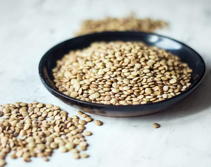 Green Lentils Whole