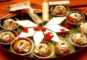 Traditional Divali sweets