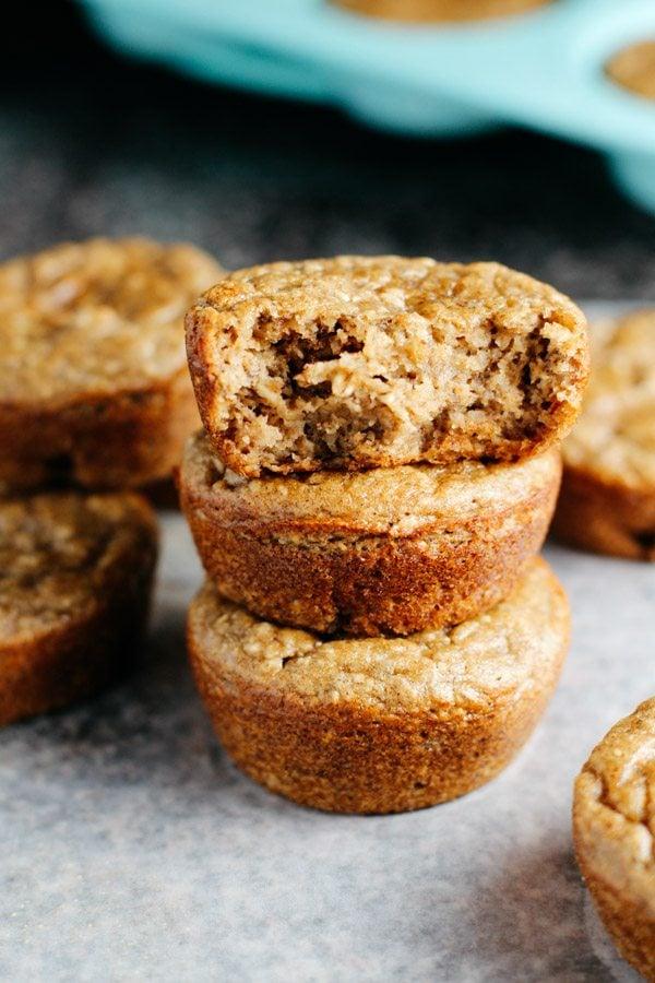 Almond Flour Bran Muffins