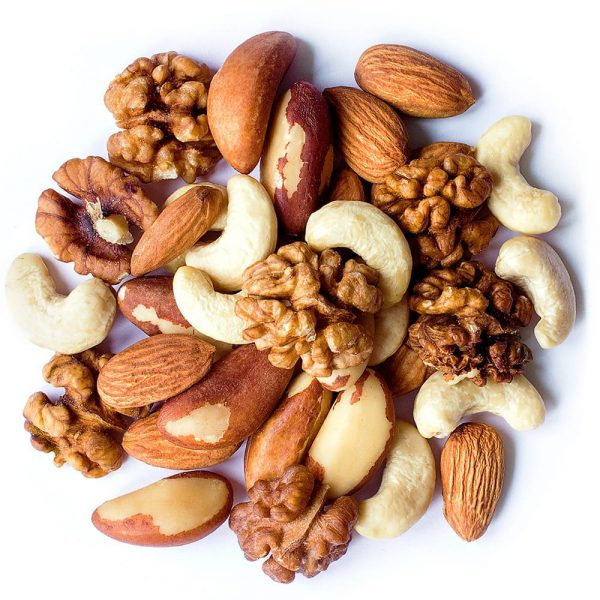 Mix Nuts Almonds Cashews Brazil Nuts and Walnuts