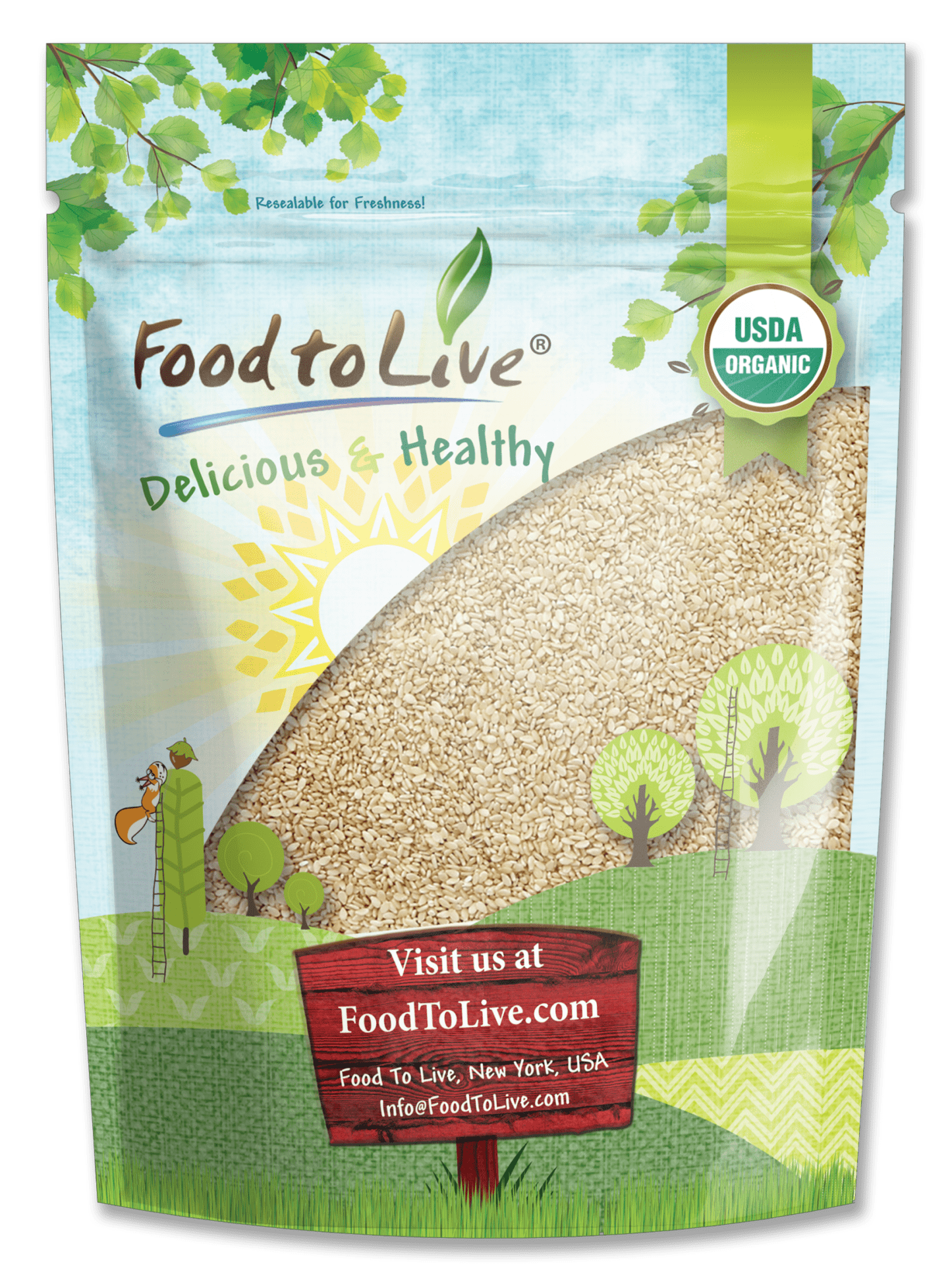 Organic Sesame Seeds Small Bag