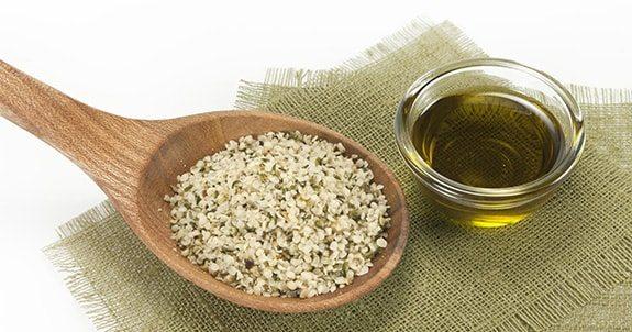 tasty and useful hemp seeds