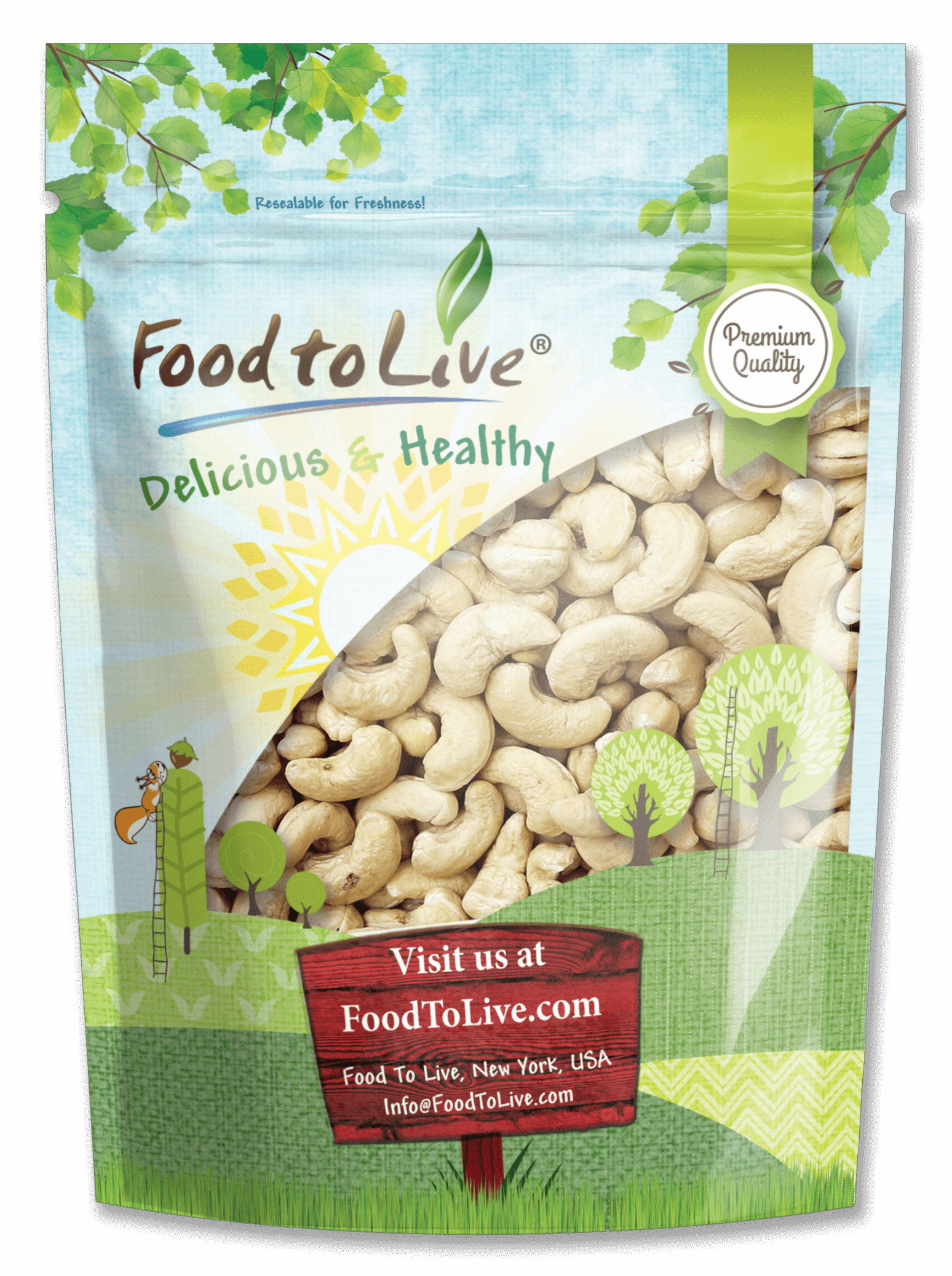 Cashews W-240 Bag
