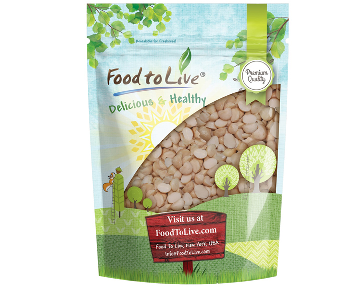 Macadamia Nut Pieces in Bag