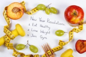 a New Year resolution on healthy living