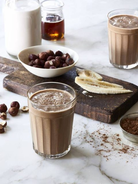 Vegan Chocolate Hazelnut Smoothie