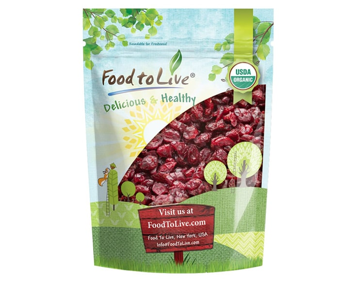 Organic Cranberries Pack
