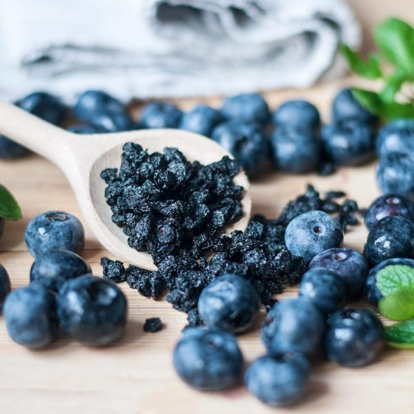 Oragnic Dried Blueberries without bag