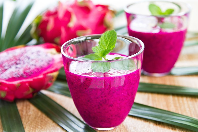dragon fruit smoothies