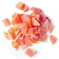 Diced Dried Papaya