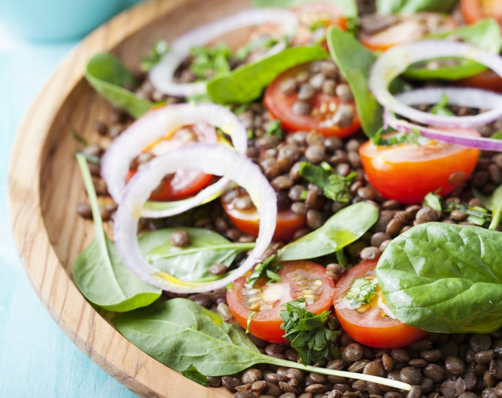 Organic French Green Lentils Whole