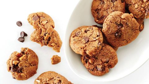 Chocolate Chip Sacha Inchi Cookies