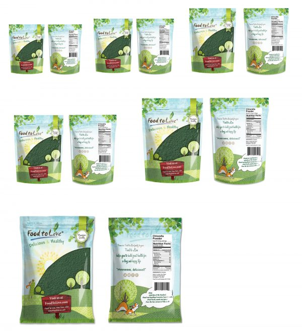 Chlorella Powder bags