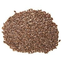 Organic Whole Brown Flax Seeds