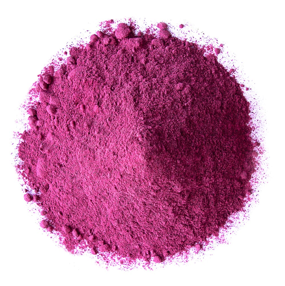 organic red dragon fruit powder