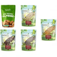 Organic Nuts Seeds and Fruits Gift Box