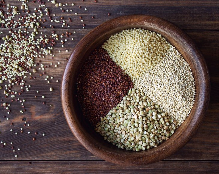 Four Super Grains