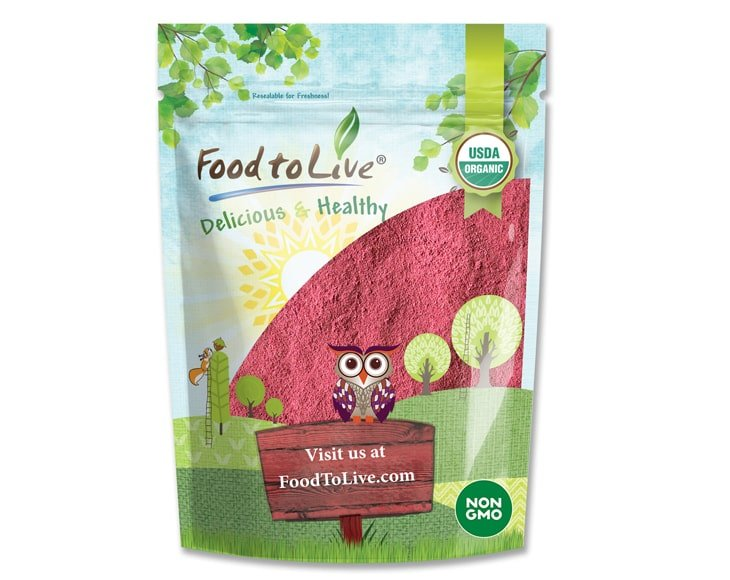 organic raspberry powder small pack FTL