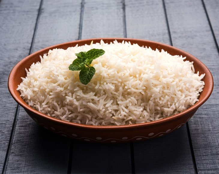 Organic Long Grain White Rice Cooked