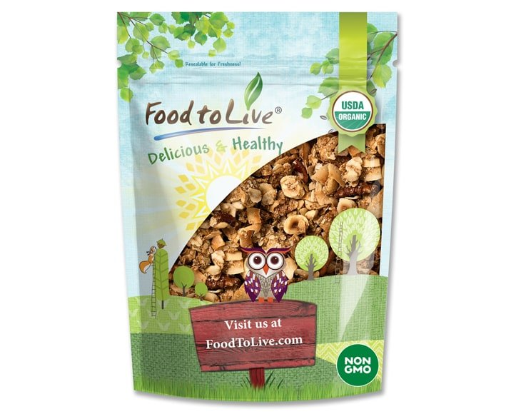 Organic Golden Crunchy Granola front-small